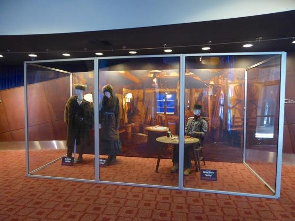 Hateful Eight film costume display ArcLight Sherman Oaks