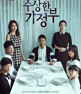 Korean Drama Series, The Strange Housekeeper, Park Bo Nyuh, Choi Ji Woo, Lee Sung Jae, family drama