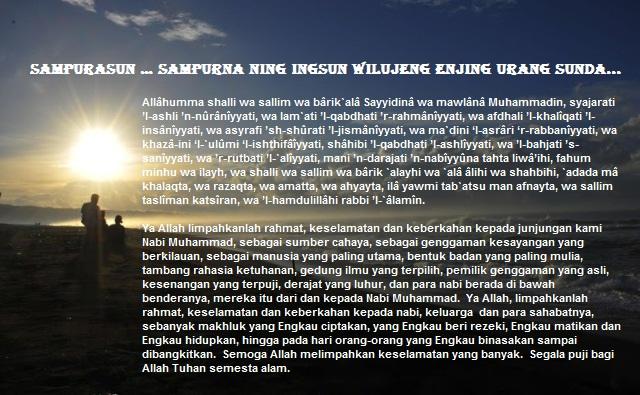 Sampurasun Mahzab Ala Sunda