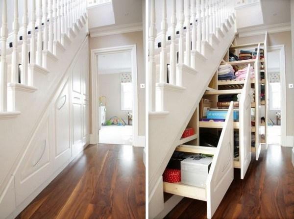 11 Ways To Organize Under Your Stairs Organizing Made Fun 11 Ways