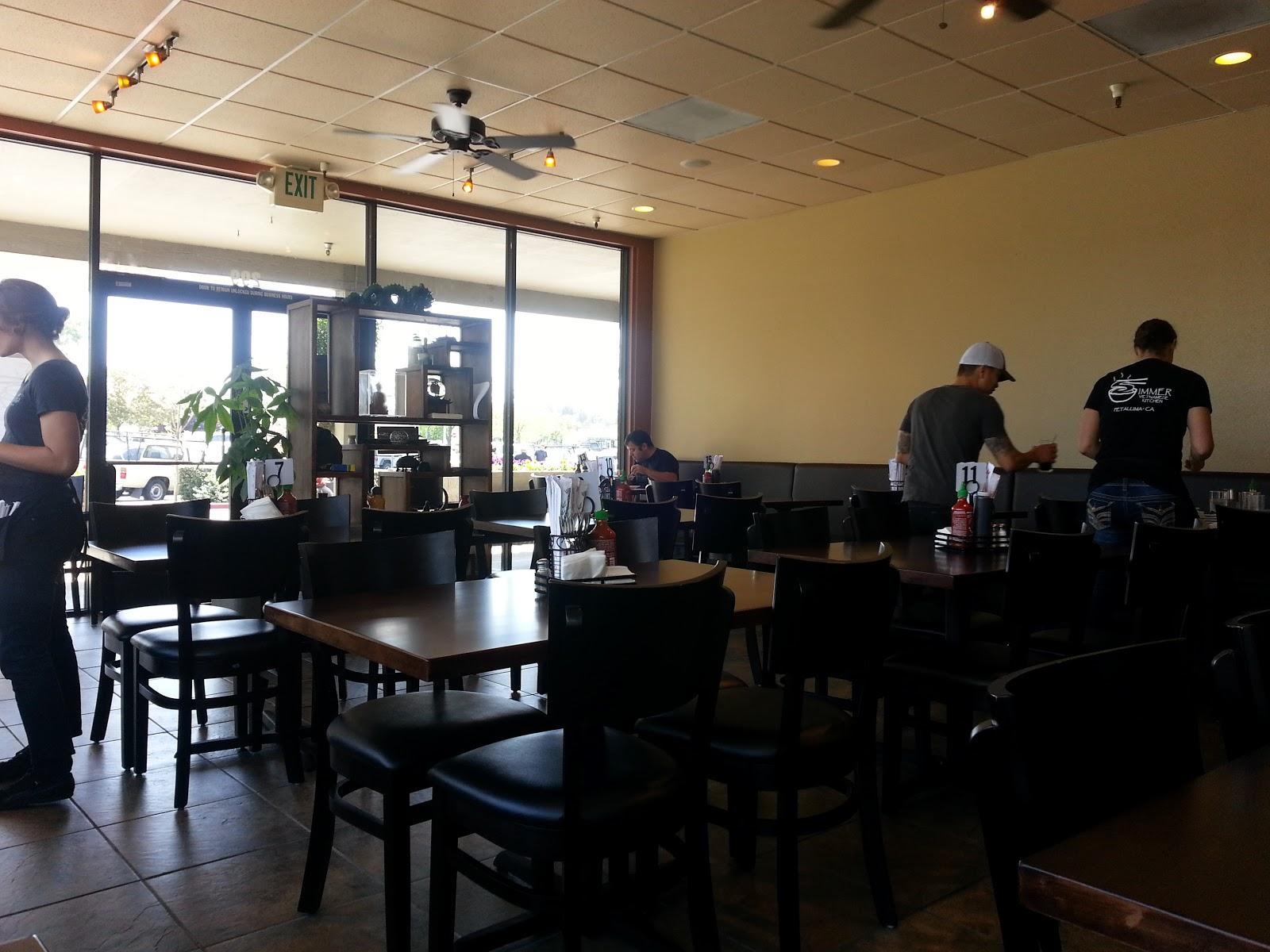 Sesame Tea Eats Simmer Vietnamese Kitchen Petaluma