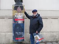 john with klimt sign