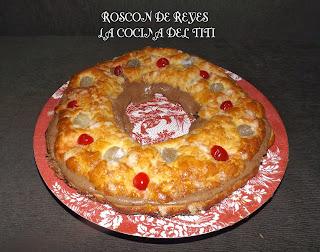 Roscon de Reyes...