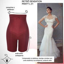 lingerie para noivas Retro Sensation Panty L-01 Triumph