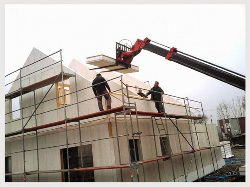 Construcción de una vivienda en Polonia