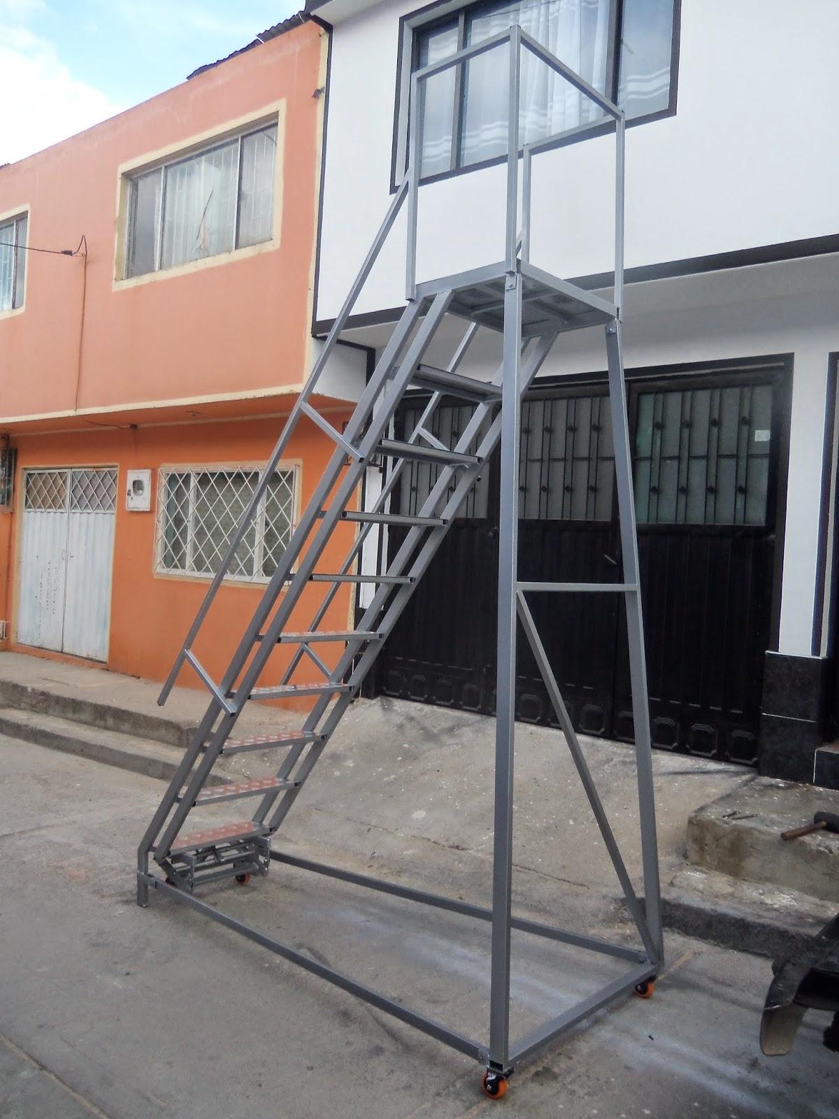 Escaleras tipo avi n for Escaleras 4 metros