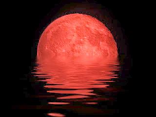 Porque a lua fica vermelha Lua sangrenta, ou lua vermelha veja este fenômeno.