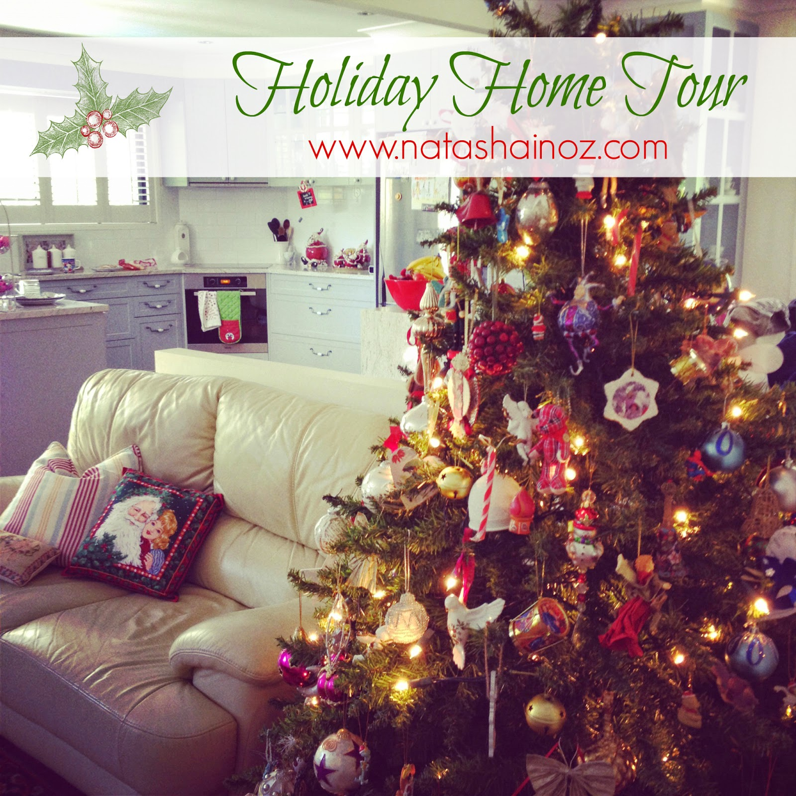 Hark the Herald Angels Sing and a Christmas Home Tour