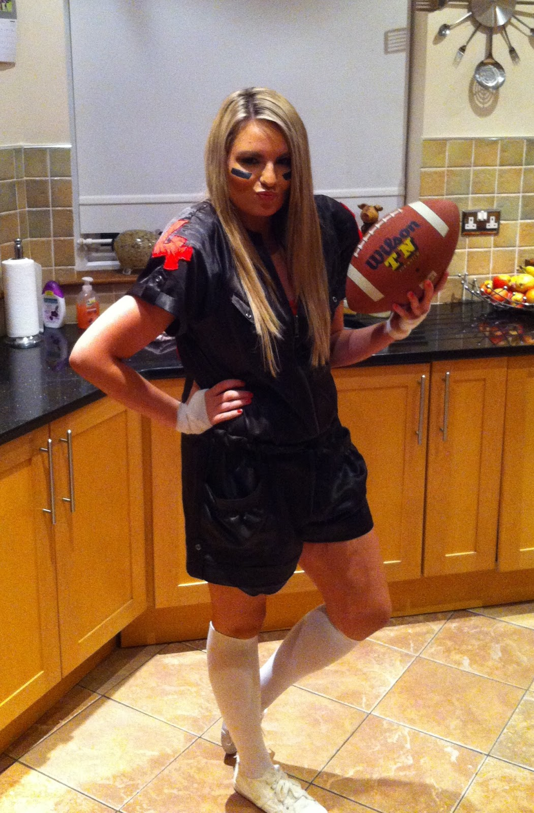 my diy halloween costume - Halloween Costume Football