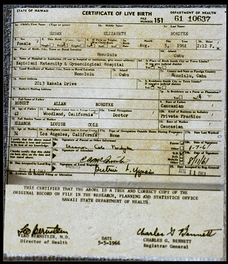 Blog Smith Obama Real Birth Certificate Released