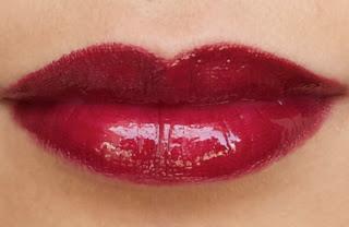 Labios rojos perfectos
