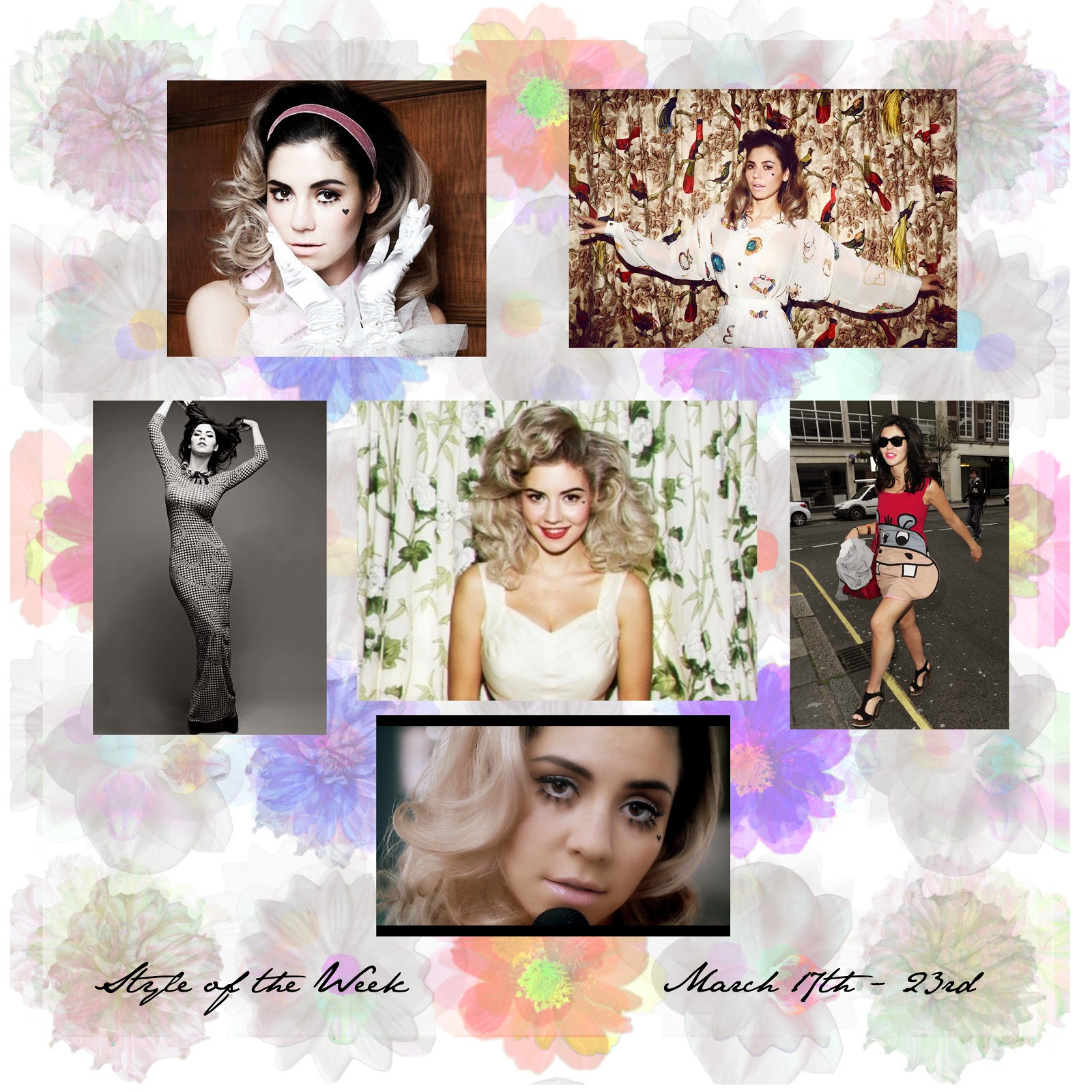 STYLE OF THE WEEK : MARINA DIAMANDIS