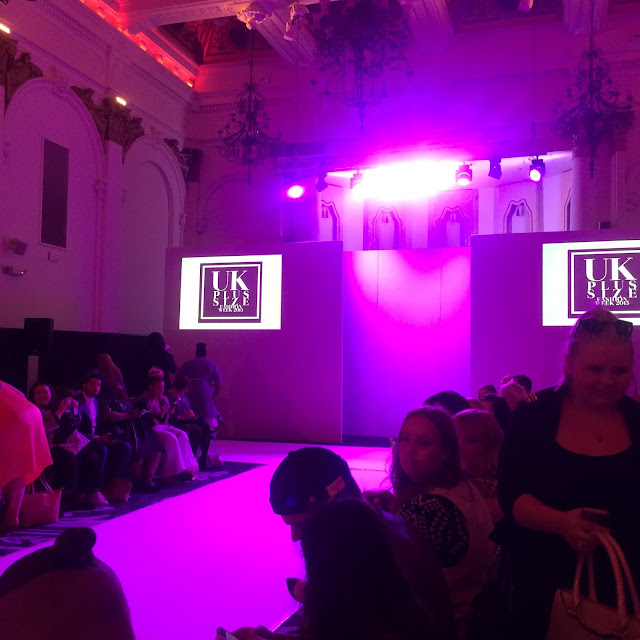 UKPSFW Fashion Show review - Evans Elvi Society Plus