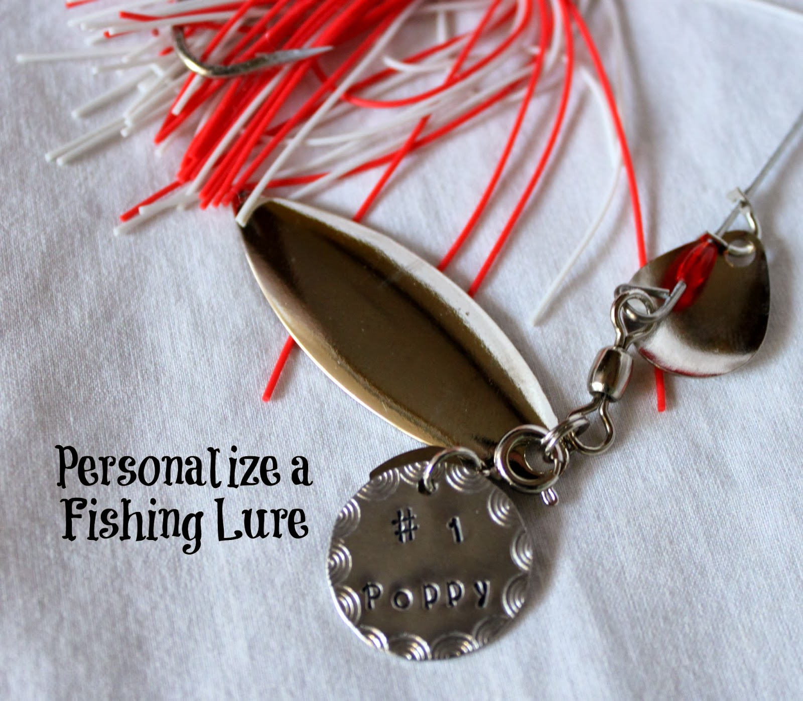 Handmade holiday gift guide review personalized fishing for Engraved fishing lures