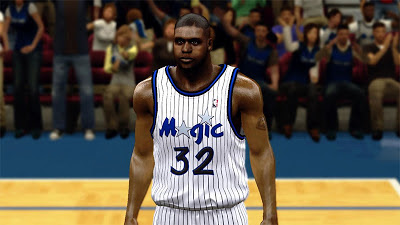 NBA 2K13 Shaq Cyberface - 90's Magic Patch