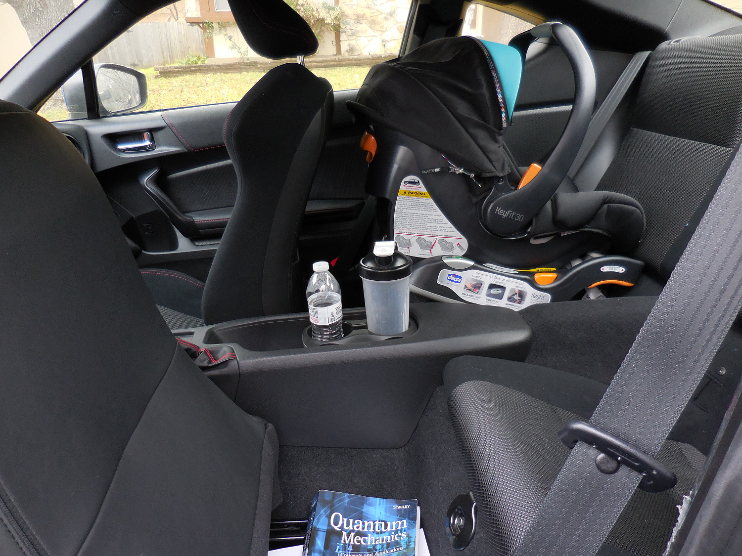 Can an Infant Car Seat Fit in a Subaru BRZ? ~ The Baby Effect
