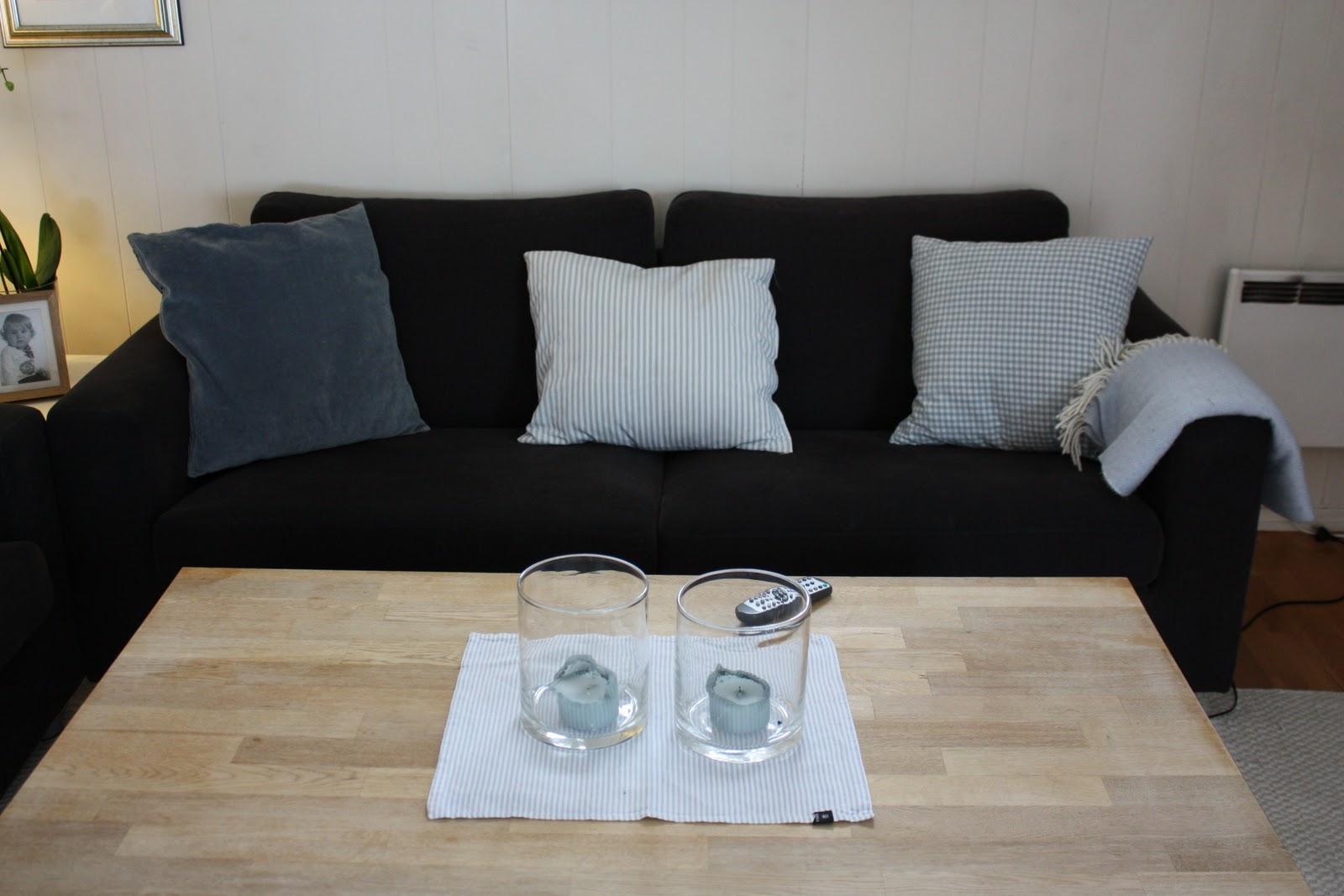 Ruter & hjerter: lyst stuebord...