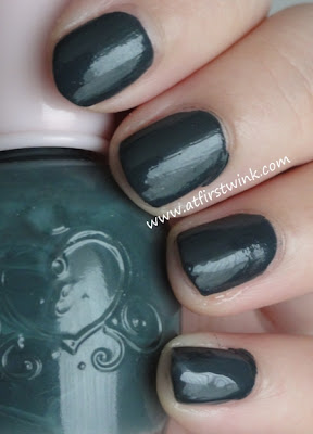 Etude House nail polish DBL603 - Never Navy review