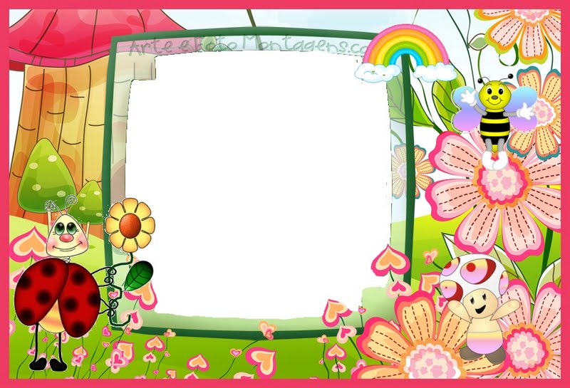 fotos de aniversario tema jardim encantado : fotos de aniversario tema jardim encantado:Imagens Molduras e Convites Jardim Encantado