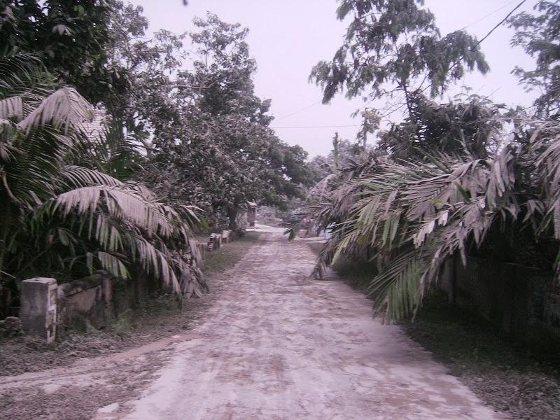 Hujan Abu Letusan Gunung Kelud