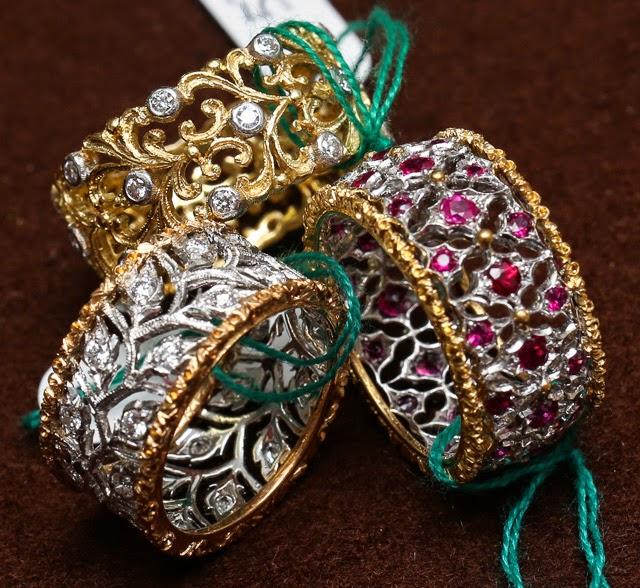 Buccellati Finest Italian jewelry designs 2015 AK Hubb