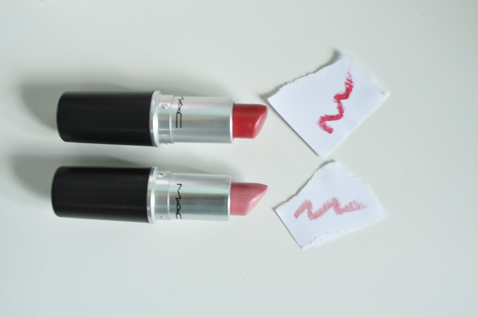 MAC Lipsticks - One Hold and Angel