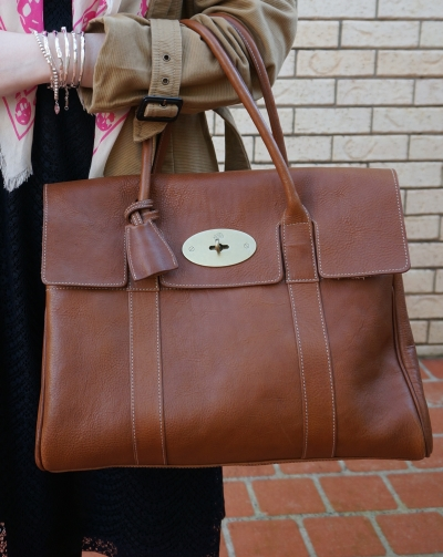 Away From the Blue Mulberry Bayswater Bag Oak