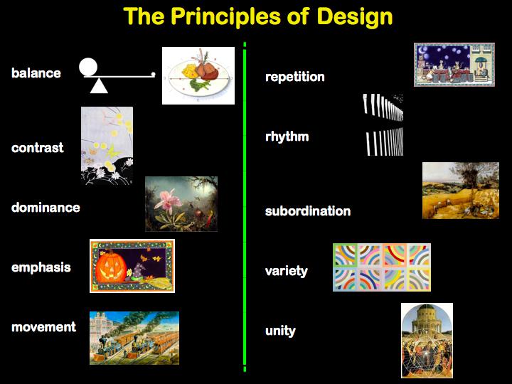 5 Principles Of Design Art : Visual arts elements of art and principles design