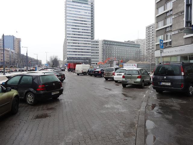 Tu znajdował się hotel Mercure Warszawa Fryderyk Chopin