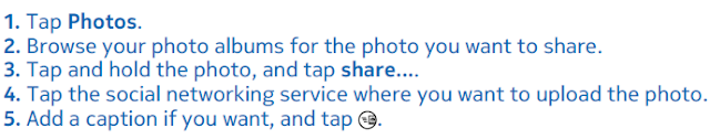 contoh procedure text how to share photos