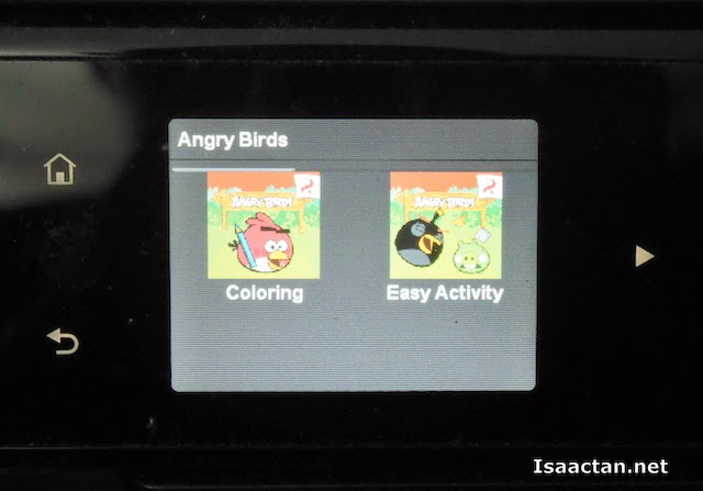 I clicked on the Angry Bird app as it looked very promising