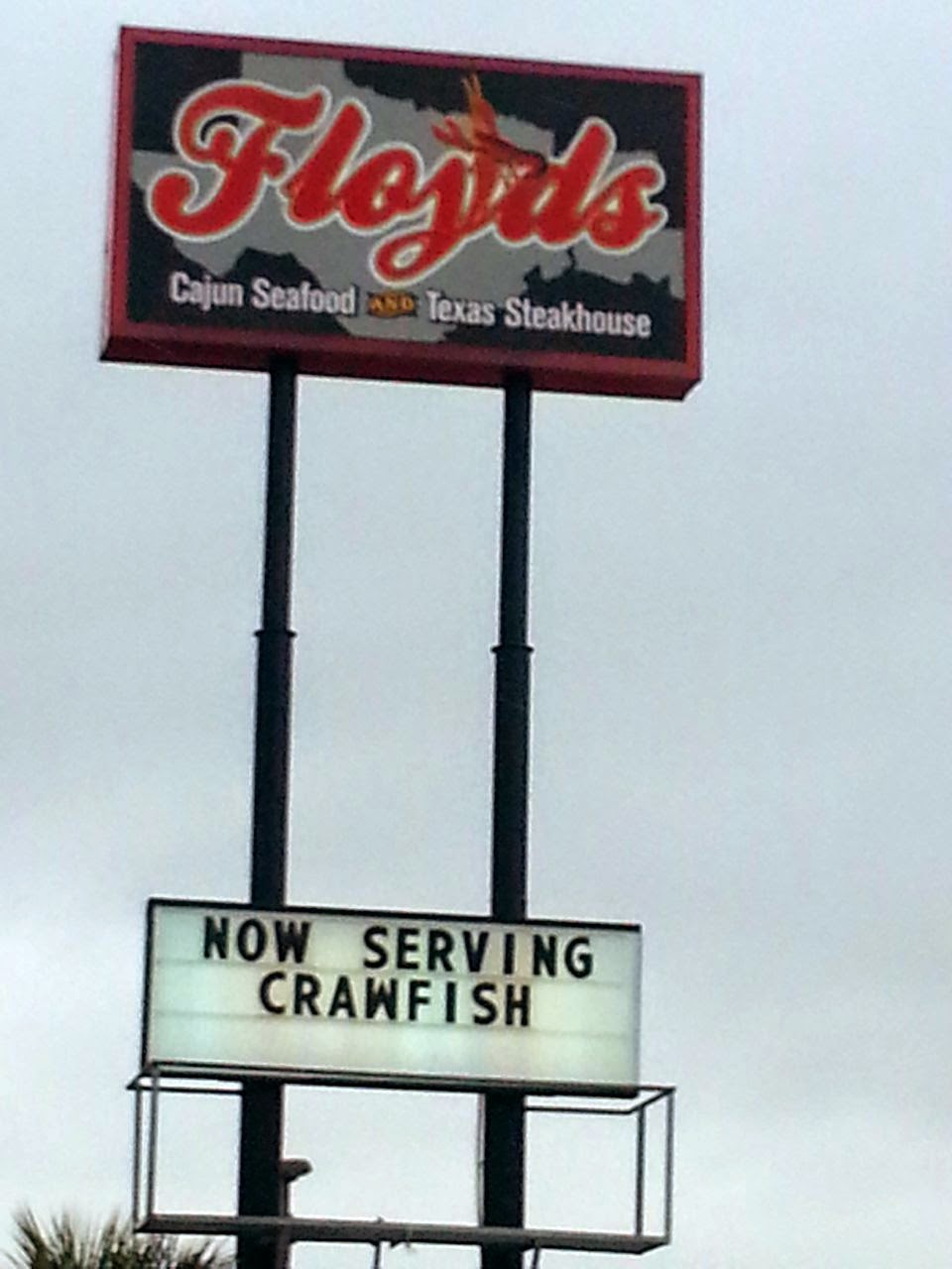 Eat Drink And Be Me: Floyd\'s Cajun Seafood and Steakhouse