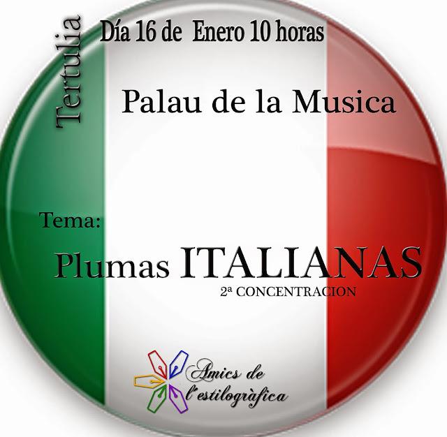 39 TERTULIA 16 DE ENERO 2016 (PLUMAS ITALIANAS)