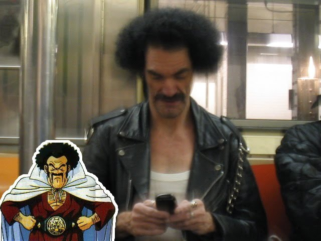 Master Misutaa Satan Of DragonBall In Real Life