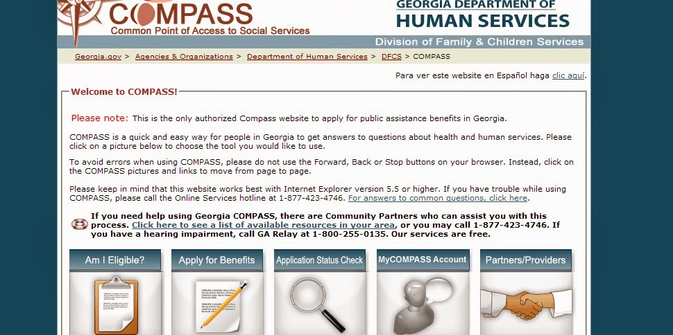 Compass Gov Food Stamps
