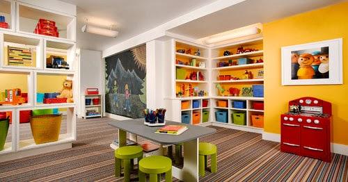 Decorar un cuarto de juegos colores en casa - Juego de decorar casas completas ...