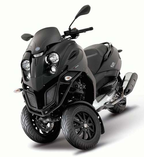 the brand new 2012 models of piaggio 3 wheel scooter. Black Bedroom Furniture Sets. Home Design Ideas