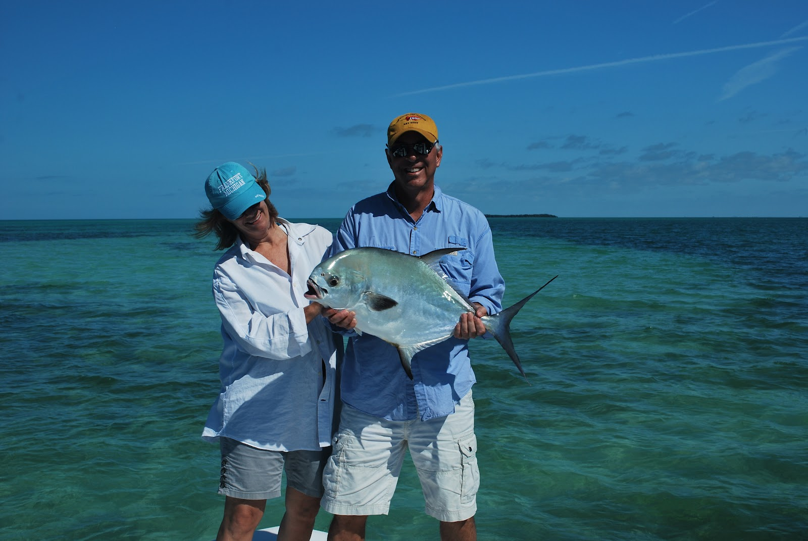 The key west flats angler permit fishing key west for Key west flats fishing