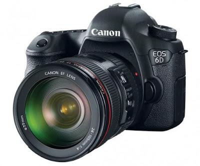 Câmeras novas da Canon