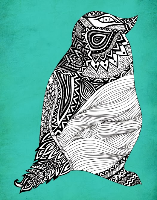 http://society6.com/pomgraphicdesign/Tribal-Penguin_Print#1=45