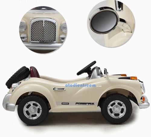 Chi tiết xe ô tô điện trẻ em JE128 hình3