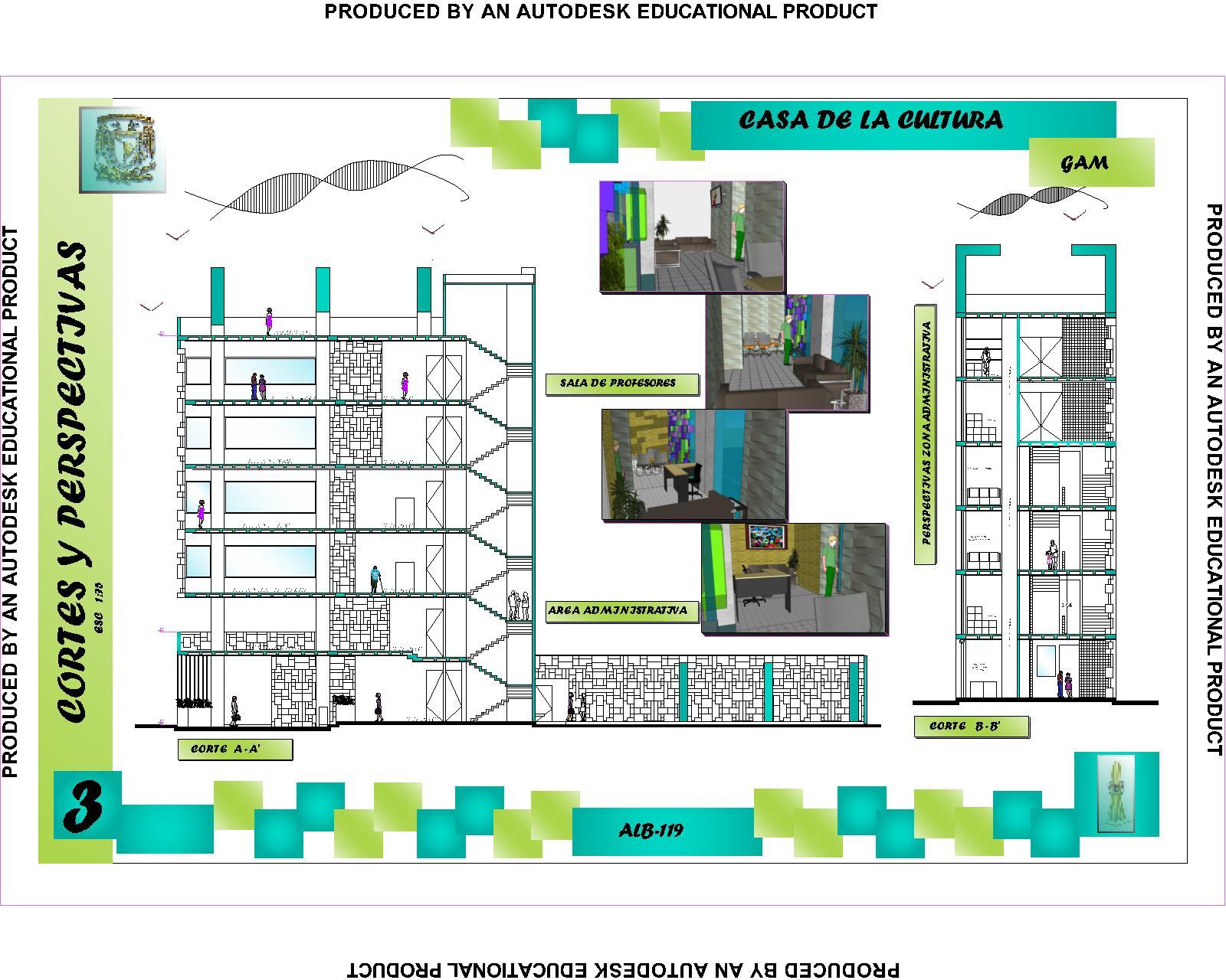 La belleza de las primeras ideas en arquitectura for Cortes arquitectonicos