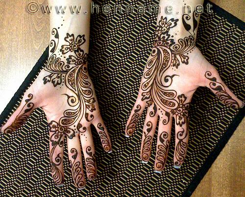 Mehndi Patterns Printable : Girl tattoo designs dragon mehndi