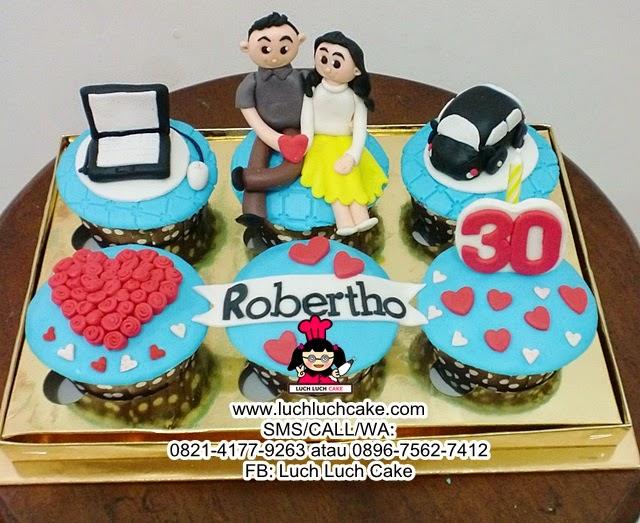 Cupcake Mobil dan Laptop Daerah Surabaya - Sidoarjo