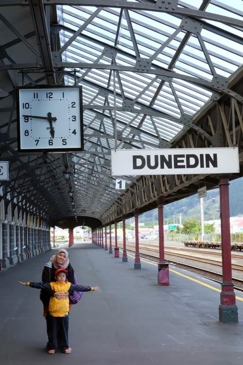 Kiddos Travel Stories Liburan Ke Dunedin Railway Station Otago Peninsula