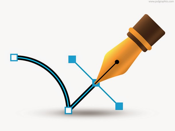 Vector Pen Icon PSD
