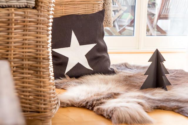 Amalie loves Denmark Sternkissen-DIY