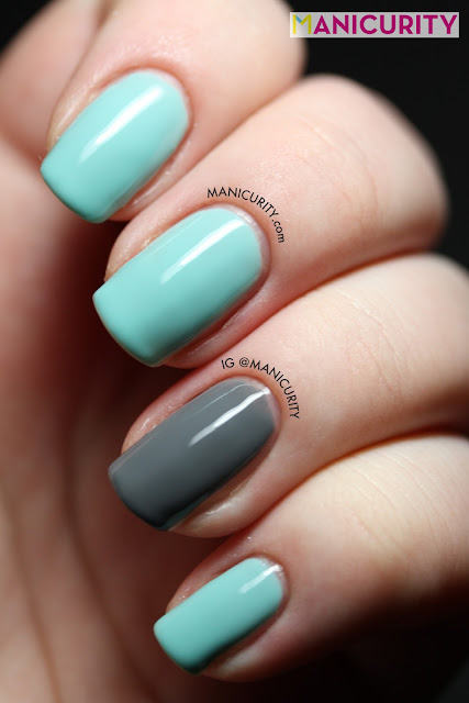 Manicurity | Elevation Polish Jengish Chokusu (and Pure Ice Kiss Me Here on ring)