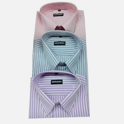 Graviera Exclusive Formal Wear Shirts – Pack Of 3 worth Rs.1699 for Rs.999 Only (Limited Period Offer)
