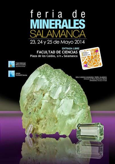 FERIA DE MINERALES DE SALAMANCA